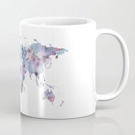 Watercolor Floral Map Coffee Mug