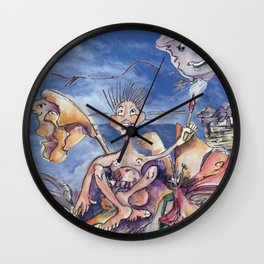 Inspired Jester B. Wall Clock