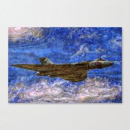 171 Vulcan XH558 Canvas Print