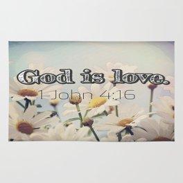 God is Love Rug