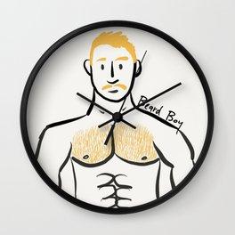 Beard Boy: Jamie Wall Clock