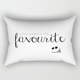 Chocolate my Fav Rectangular Pillow