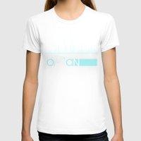 tron T-shirts featuring Tron Minimalist by Ed Burczyk