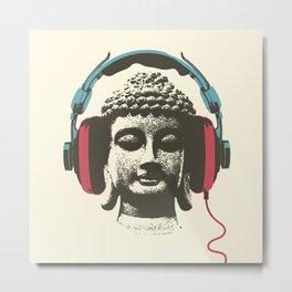 Enjoy Music Metal Print