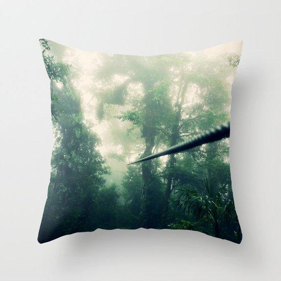 Zip Line Throw Pillow