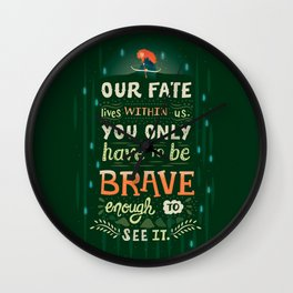 Would you change your fate? Wall Clock