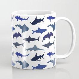 Blue Sharks Coffee Mug