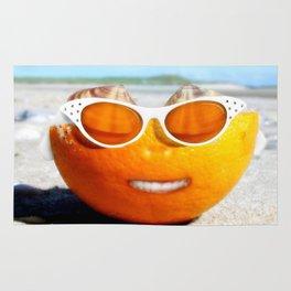 Beached Orange Rug