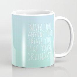 Oscar Wilde: Ordinary Coffee Mug