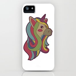 Unicorn Head! iPhone Case