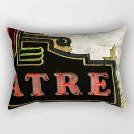 Old Theatre Rectangular Pillow