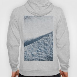 Abstract Snow Drift - 104/365 Nature Photography Hoody