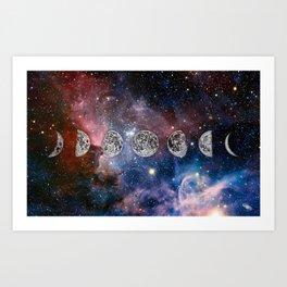 Cosmic Celestial Cycle Art Print