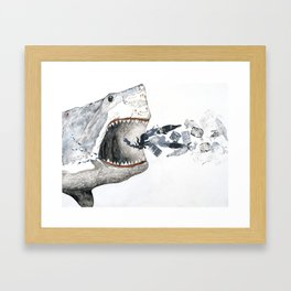 Shark vs. Misc. Framed Art Print