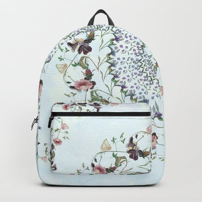 Floral fervour Backpack