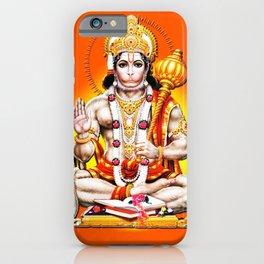 Hindu - Hanuman 2 iPhone Case
