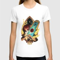transistor T-shirts featuring Like It's Written in the Stars - Transistor by Stephanie Kao