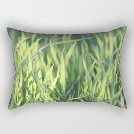 Green Paradise Rectangular Pillow