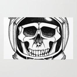 Astronaut skull Rug
