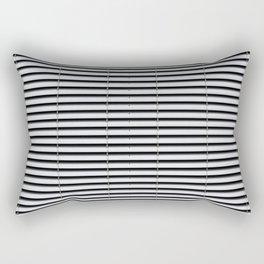 metal shutter background - silver sun blind pattern  Rectangular Pillow
