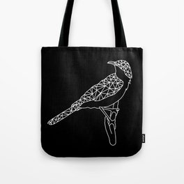 Wireframe Bird Tote Bag