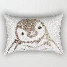 The Little Intellectual Penguin Rectangular Pillow