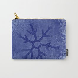 The Icy Snowflake Carry-All Pouch