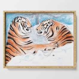 Tiger Play Serving Tray