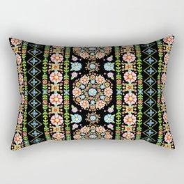 Boho Chic Stripe Rectangular Pillow