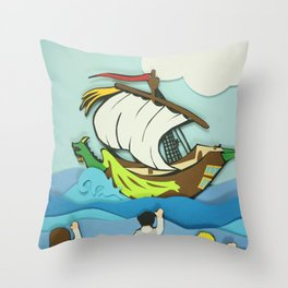 It Looks Narnian Throw Pillow