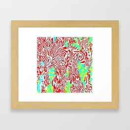 LIQUID #2 TREE Framed Art Print