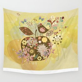 Der Apfel - The Apple Wall Tapestry