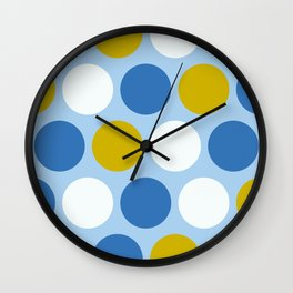 Mr Picnic Polka Dots Wall Clock