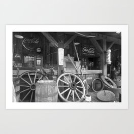 Old Store Art Print