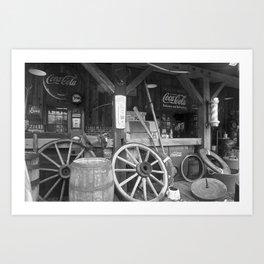 Old Store Art Print