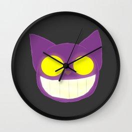 GhostKat Lineless head Wall Clock