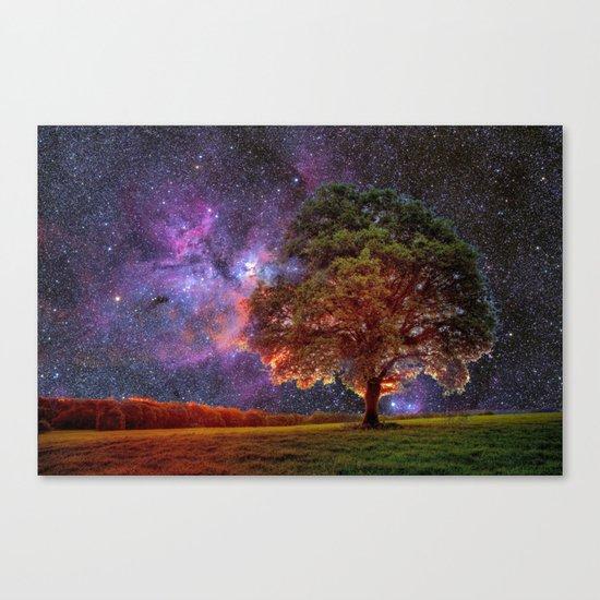 Galaxy Garden Canvas Print