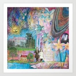 Transcending Time Art Print