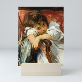 "John Singer Sargent ""Portrait of a Child"" Mini Art Print"