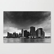 Storm Over Manhattan Canvas Print