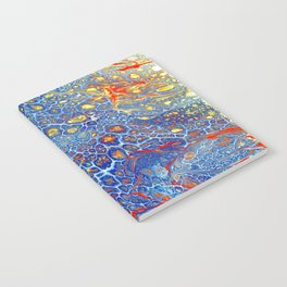 Dragonskin - Abstract Flow Acrylic Notebook