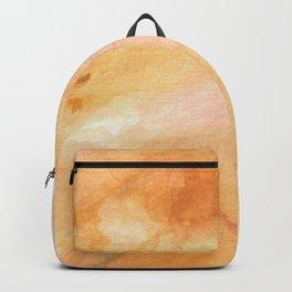 Citrine Crystal Watercolor Backpack