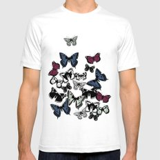 flutter carousel Mens Fitted Tee White SMALL