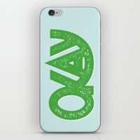 okay iPhone & iPod Skins featuring OKAY by Josh LaFayette