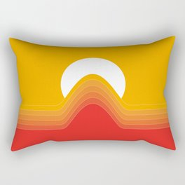 Desert Sunrise Rectangular Pillow