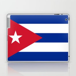 National flag of Cuba - Authentic HQ version Laptop & iPad Skin