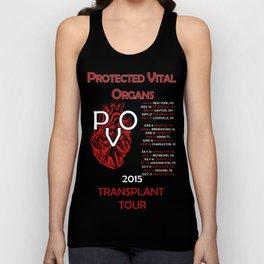 Protected Vital Organs Alternate Color Scheme Unisex Tank Top