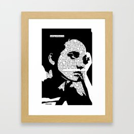 Nothing Without You Framed Art Print
