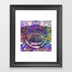 Rainbow Roots Framed Art Print