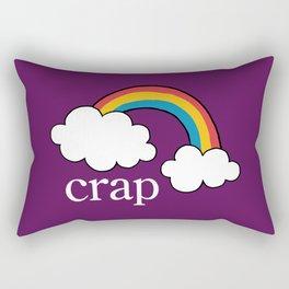 Crap Rectangular Pillow